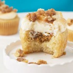 baklava, cupcakes, baking, cupcake recipe, honey, cream cheese, frosting
