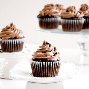 chocolate, cupcakes, recipe, nutella, butterceam, frosting