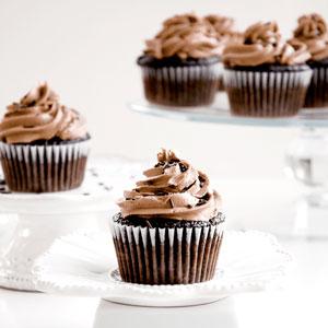 chocolate, cupcakes, recipe, nutella, butterceam, frosting