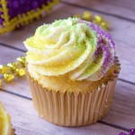 mardi gras, cupcakes, recipe, rum, cream cheese, frosting, cupcake recipe, cupcakes, baking