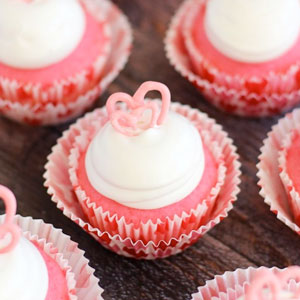 pink, champagne, cupcakes, recipe, marshmallow, frosting, chocolate