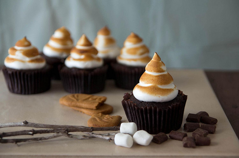 Biscoff S'mores Cupcakes Recipe