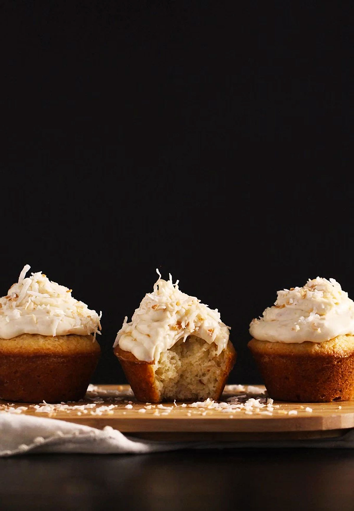 Toasted Coconut Cupcakes