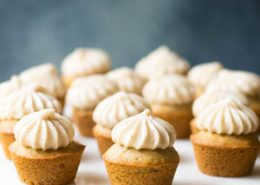Honey Cinnamon Cupcakes