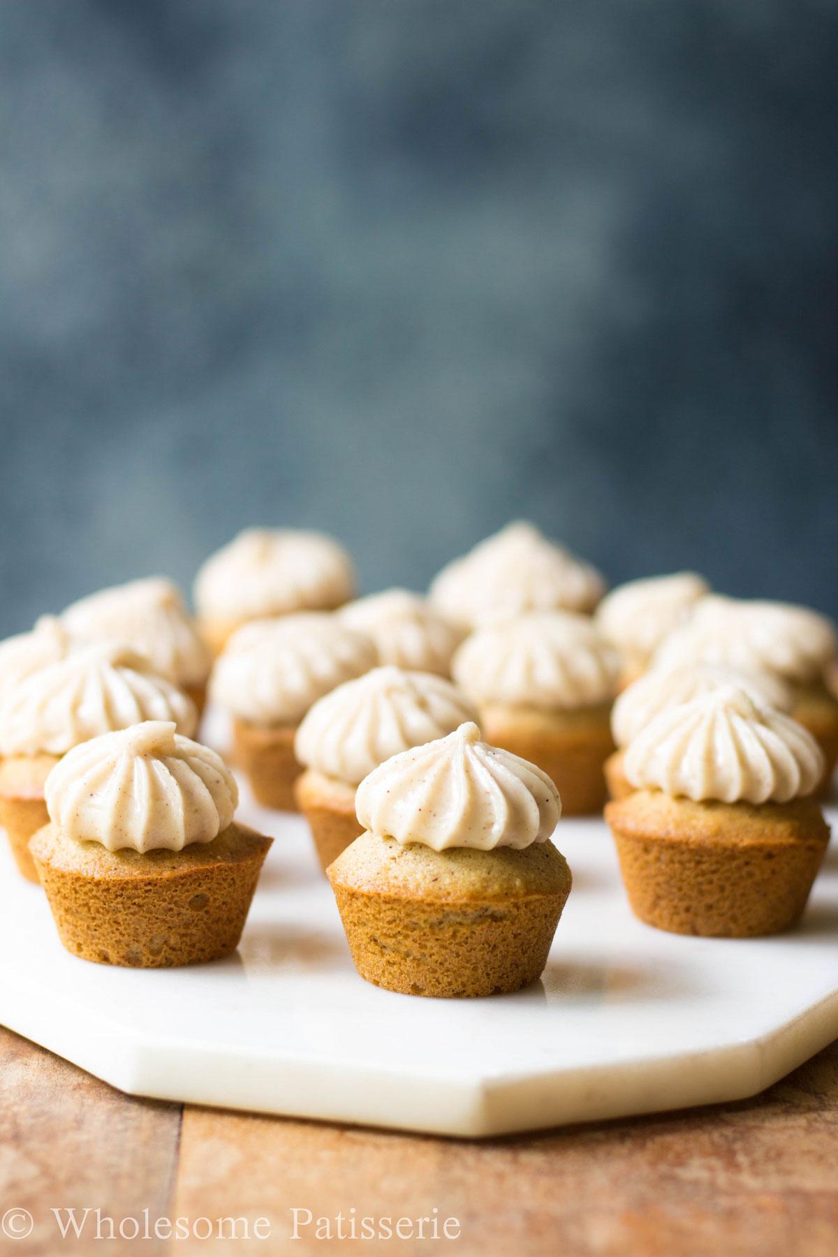 Honey Cinnamon Cupcakes