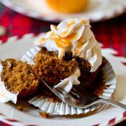 Caramel Gingerbread Cupcake Recipe