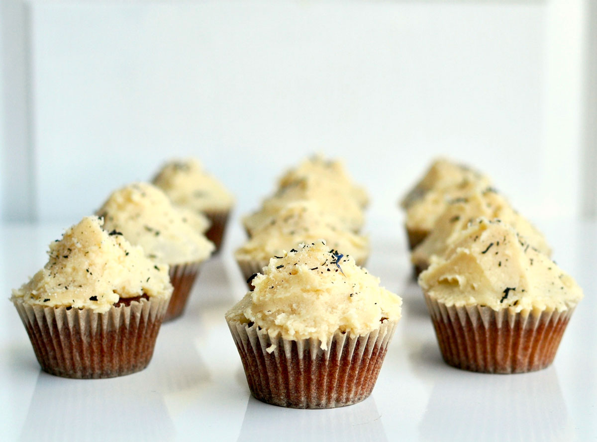 Earl Grey Vanilla Cupcakes Recipe