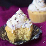 Lavender Lemonade Cupcakes {Vegan}