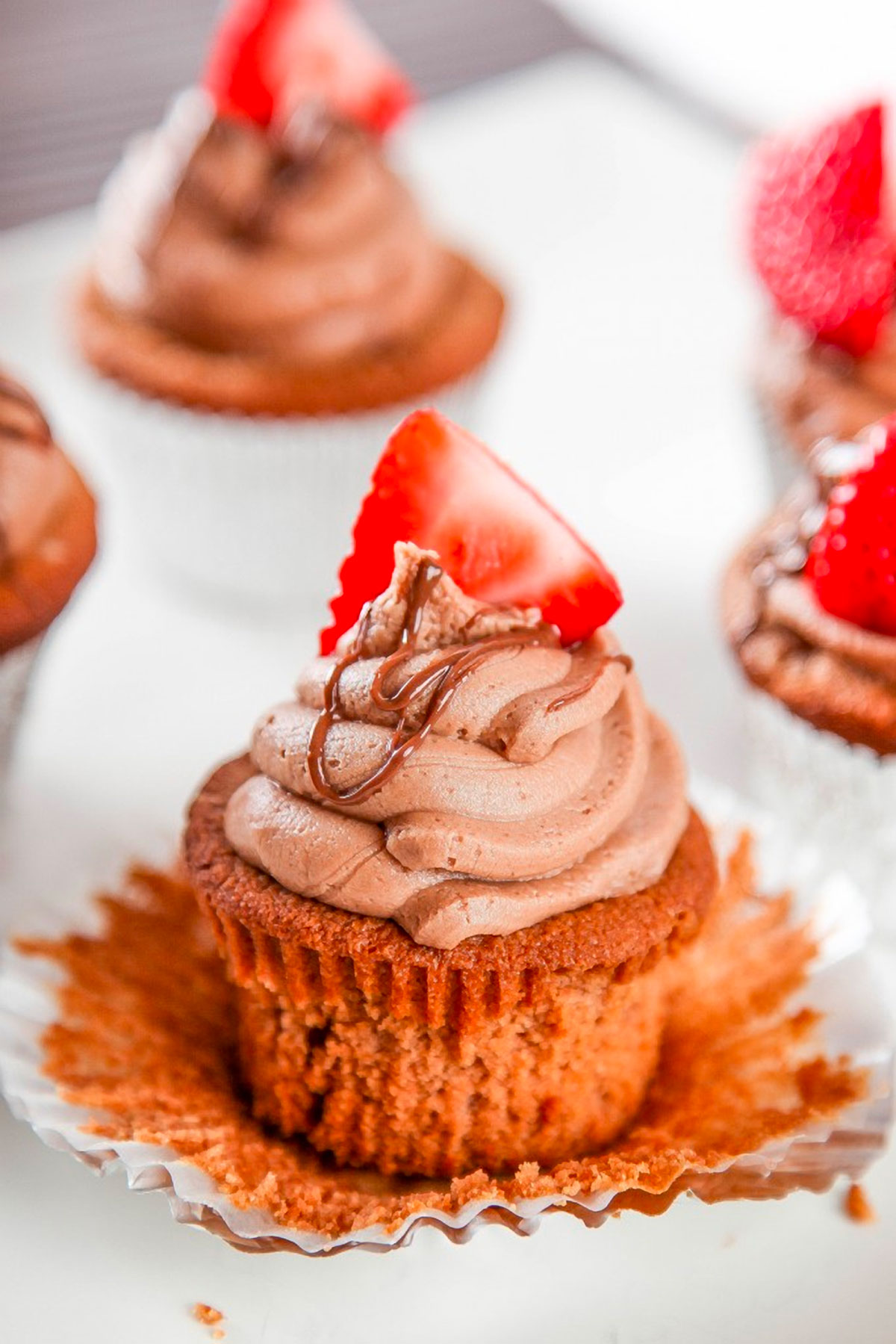 Easy Nutella Cupcakes Recipe