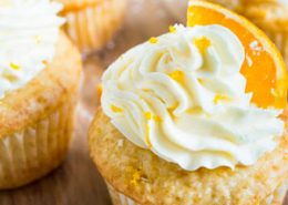 Coconut Orange Creamsicle Cupcakes
