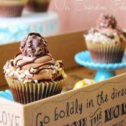Cupcake Ferrero Rocher