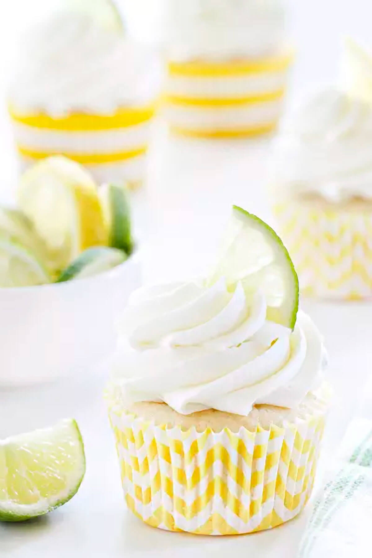 Lemon Lime Cupcakes