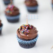 One Bowl Chocolate Cupcakes