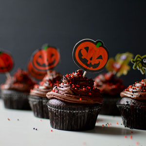 Black Magic Double Chocolate Cupcakes