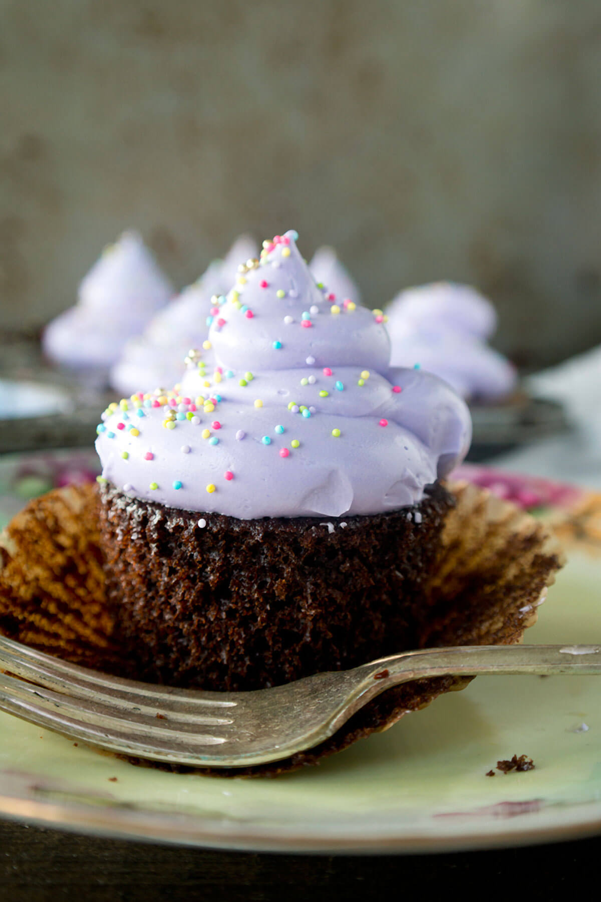 Double Chocolate Ganache Cupcakes