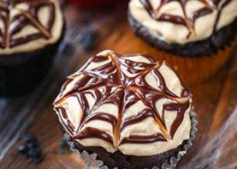 Healthy Halloween Cupcakes