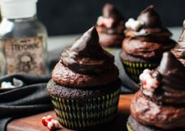 Mexican Chocolate Cupcakes