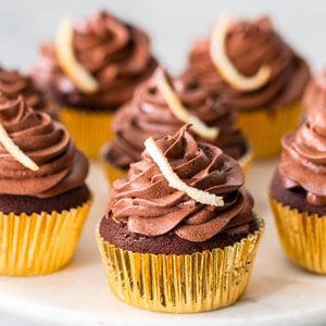 Rich Chocolate Orange Cupcakes