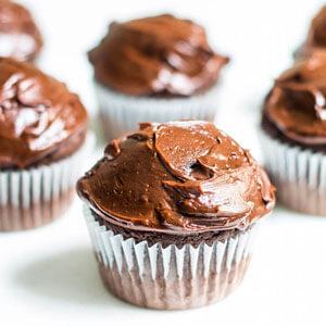 Espresso Chocolate Cupcakes