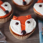 Five Minute Fox Cupcakes