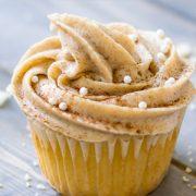 Maple Snickerdoodle Cupcakes