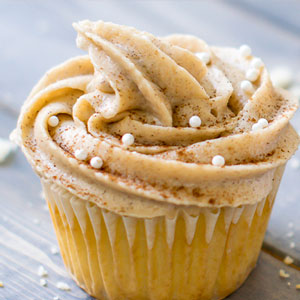 Maple Snickerdoodle Cupcakes