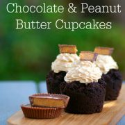 Chocolate and Peanut Butter Cupcakes
