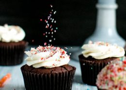 Double Chocolate Devil's Food Cupcakes