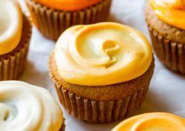 Ombré Spice Cupcakes