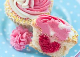 Raspberry Lemon Swirl Cupcakes