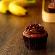 Roasted Banana Cupcakes