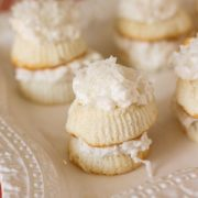 Skinny Mini Coconut Cakes