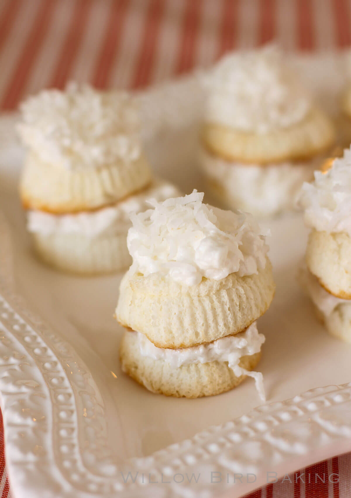 Skinny Mini Coconut Cakes