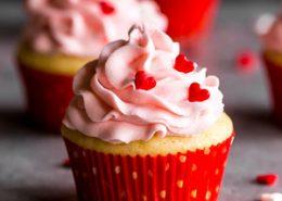 Perfect Eggless Vanilla Cupcakes