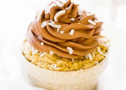 Banana Coconut Cupcake
