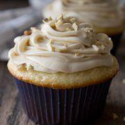 Banana Sour Cream Cupcakes