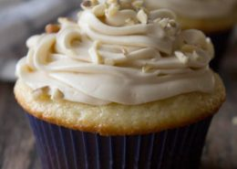 Banana Sour Cream Cupcakes