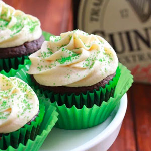 Irish Whiskey Cupcakes
