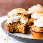 Peanut Butter Churro Cupcakes