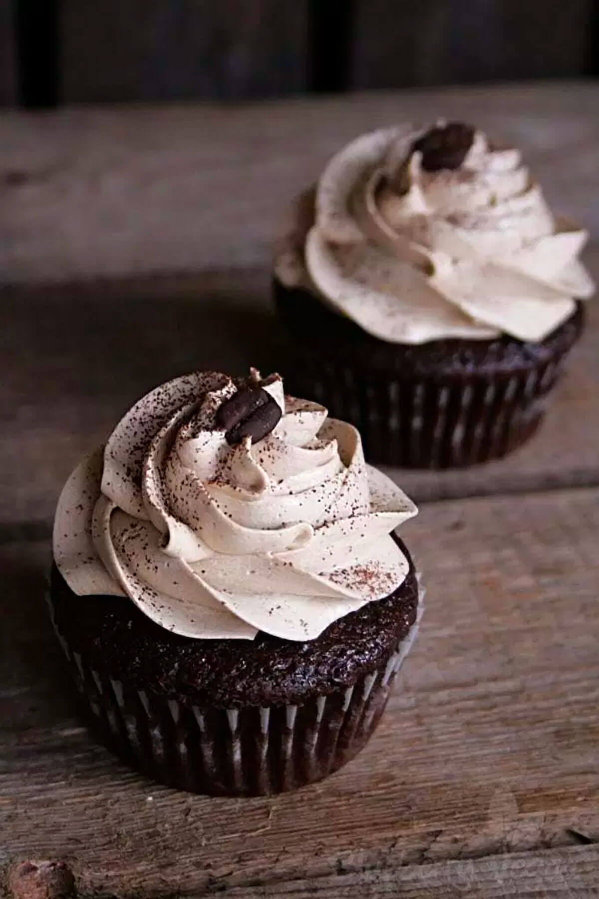 Rich Mocha Cupcakes