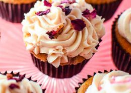 Sweet Coconut & Strawberry Cupcakes Recipe
