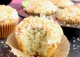 Vegan Toasted Coconut Cupcakes