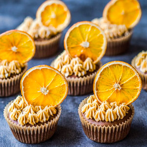 Choc-Orange Coffee Cupcakes