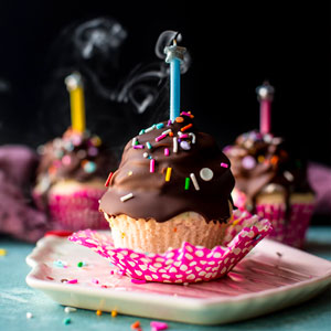 Ultimate Birthday Cupcakes