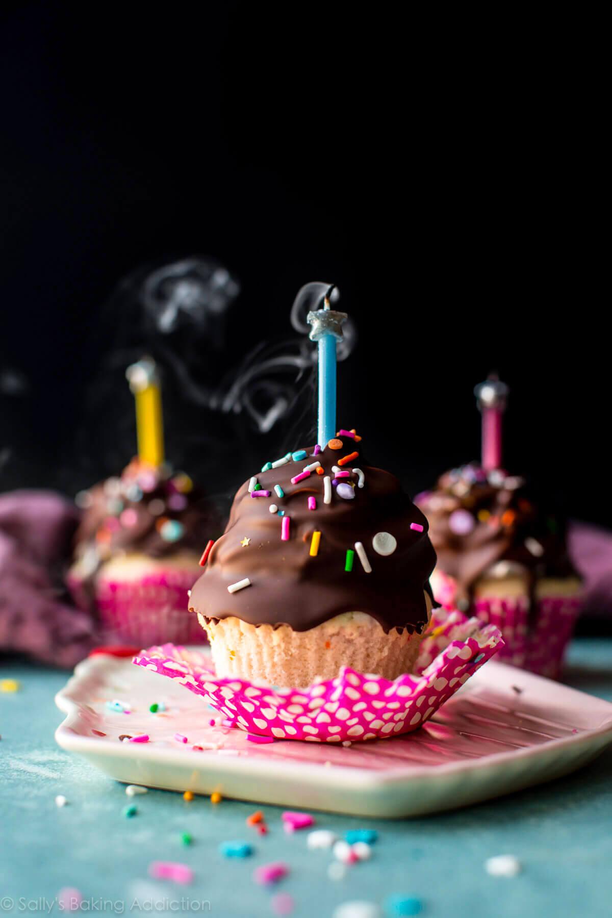 Ultimate Birthday Cupcakes