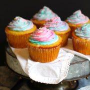 Vanilla Unicorn Cupcakes