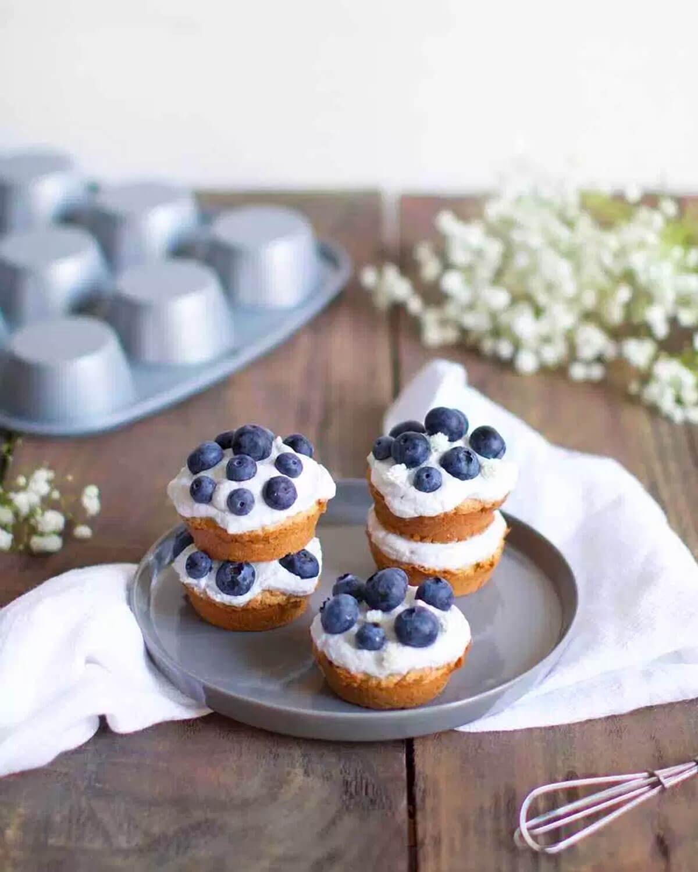 Vegan Cupcakes With Coconut Cream