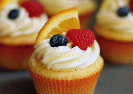 White Sangria Cupcakes
